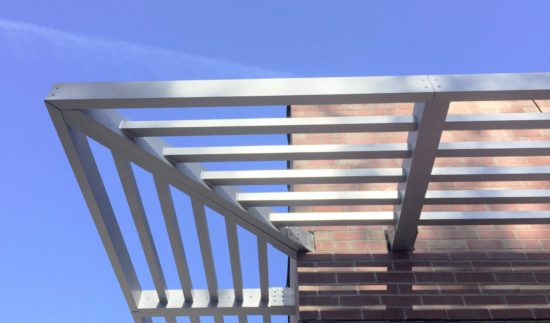 Sun control inofab for Metal sun shade structures